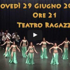 """Aziza Abdul Ridha presenta: """"Le Mille e…Un Sogno"""", spettacolo di Danza Orientale"""